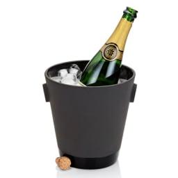 magisso(マギッソ)/ブラックカラーテラコッタ シャンパン&ワインクーラー