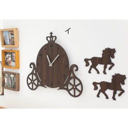 Mo:ro 掛け時計 Carriage