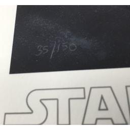 アルトーズ ロンリー ミッション[STARWARS/スターウォーズアート] エディションナンバー入り(エディションナンバーは選べません)