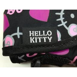 Hello Kitty(ハローキティ)/折りたたみボストンバッグ メニーフェイス(ポーチ付き)