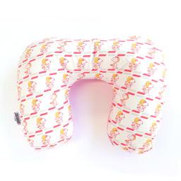 SNOOPY(スヌーピー)/ネックピロー&アイマスクセット フライングエース柄(空気で膨らむ枕) PEANUTS ネックピロー