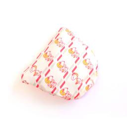 SNOOPY(スヌーピー)/ネックピロー&アイマスクセット フライングエース柄(空気で膨らむ枕) PEANUTS 折りたたんだ状態