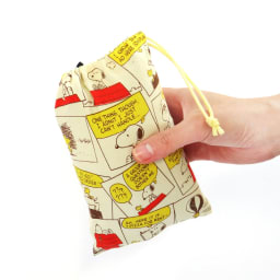 SNOOPY(スヌーピー)/ストーリー柄 衣類ケースSサイズ PEANUTS