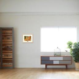 あらいぐまラスカル/木の実拾い お部屋に飾ったイメージ