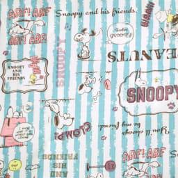 SNOOPY(スヌーピー)/スヌーピー折りたたみボストンバッグ P|PEANUTS 生地アップ