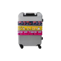 SNOOPY(スヌーピー)/ワンタッチスーツケースベルト(ワンタッチで簡単)|PEANUTS 使用イメージ