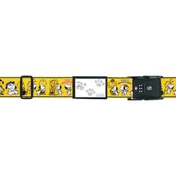 SNOOPY(スヌーピー)/TSAロック付スーツケースベルト(アメリカ旅行の必需品)|PEANUTS (イ)ハグイエロー