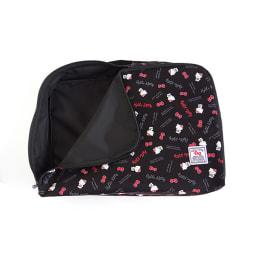 Hello Kitty(ハローキティ)/スタンダードロゴ柄 衣類ケース Lサイズ