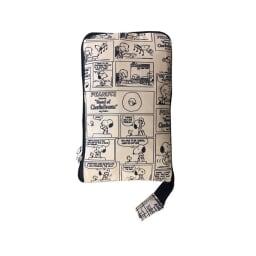 SNOOPY(スヌーピー)/折りたたみトートバッグ PEANUTS コミックナチュラル/折りたたむとコンパクトに持ち運べます