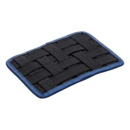 スマートホールド&インナーポーチ タブレット収納 ゴムバンドで自由に小物が挟めます
