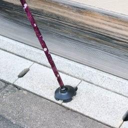 握りやすい4ポイントステッキ 婦人用杖