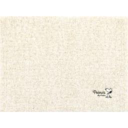 SNOOPY(スヌーピー)/デイリーミックス バスマットMサイズ (イ)アイボリー