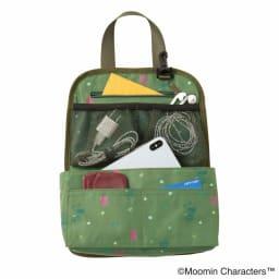 ムーミン スナフキン 旅人のリュックサック スナフキン柄のバッグインバッグ