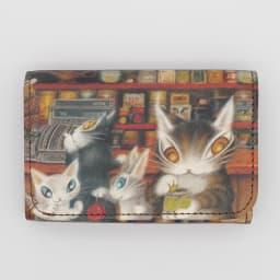 わちふぃーるど/極小三つ折り財布#2 グロッサリー