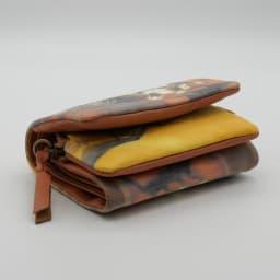 わちふぃーるど/光の猫三つ折り財布