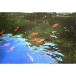 リャド ミニ版画 金魚