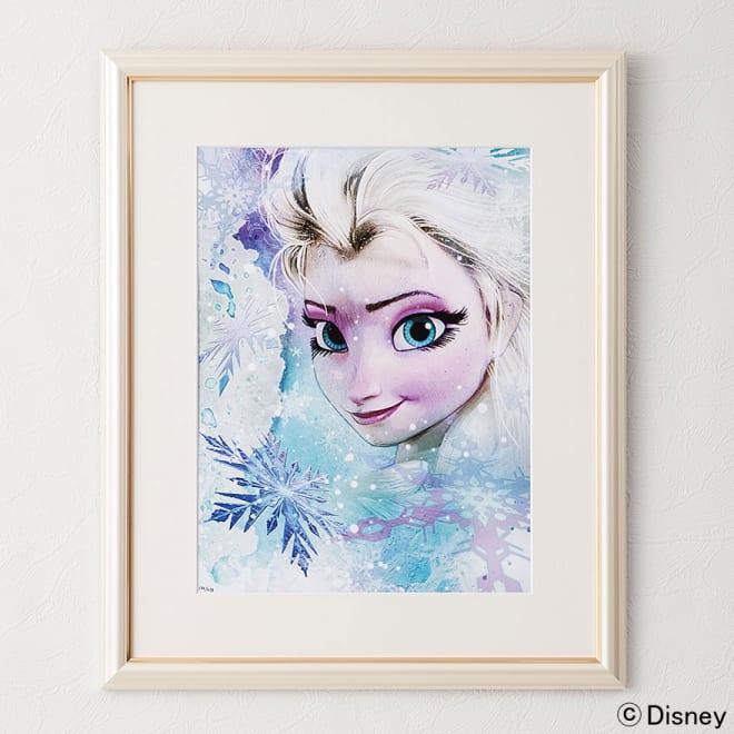 アナと雪の女王 プレミアムアートフレーム(マット付き)縦72×横59.5cm 作品名「Release Your Fears」