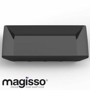 magisso(マギッソ)/ブラックカラーテラコッタ サービングプレート正方形 写真