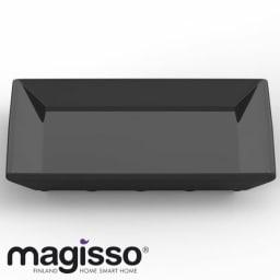 magisso(マギッソ)/ブラックカラーテラコッタ サービングプレート正方形