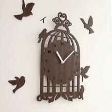 Mo:ro 掛け時計 Bird House