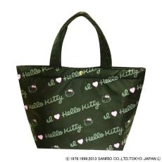 Hello Kitty(ハローキティ)/ミニトートバッグ ロゴ(マチ付き・撥水加工)