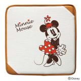 ミニー/ナチュラル シートクッション 40×40cm|Disney(ディズニー) 写真