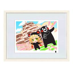 限定アート「くまモンのいる風景」トガタ