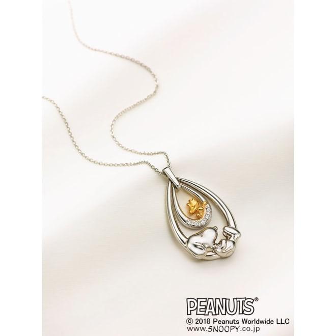 SNOOPY(スヌーピー)/スウィング・スウィングスヌーピー 5ダイヤモンドの宝飾ペンダント|PEANUTS