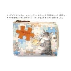 わちふぃーるど/パズル二つ折り財布