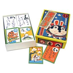 奥野かるた店/武井武雄 犬ぼう 絵札だけでなく、読み札の文字も武井の手書きという珍しいかるたです