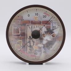 わちふぃーるど/温湿度計 タシルの赤レンガ