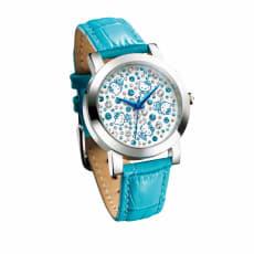 Hello Kitty(ハローキティ)/ハローキティきらめきのスプラッシュブルー腕時計