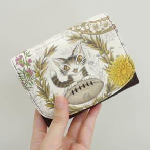 わちふぃーるど/BABYボール折財布 写真
