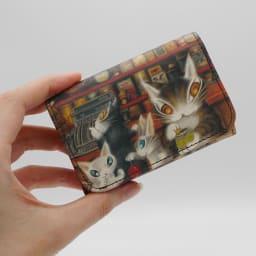 わちふぃーるど/極小三つ折り財布#2 グロッサリー 小ささを極めた極小財布です