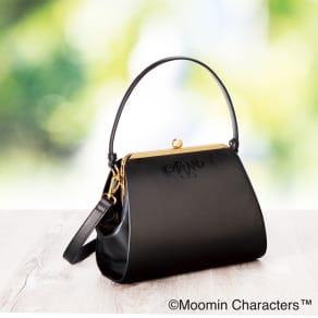 ムーミンママ やさしさのハンドバッグ ラム革 ななめ掛けもできる2WAY 写真