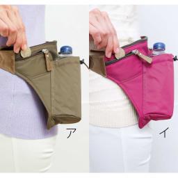 COGIT(コジット)/スリム軽量ウォークバッグ 小銭ポケット:小銭や鍵などの持ち歩きに。
