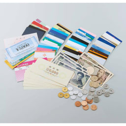 COGIT(コジット)/36カードたっぷり仕分け財布 たくさんのカード、お金、通帳もスッキリ入る!