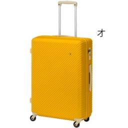 ACE HaNT(ハント) TSAロックスーツケース ストッパー付 75L 4.1kg (オ)アカシアイエロー
