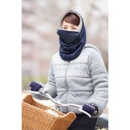 COGIT(コジット)/はっ水ボアネックロール 自転車に乗る際の防寒に