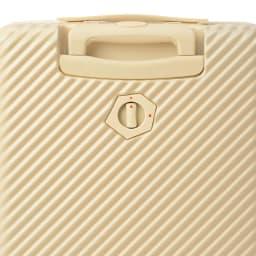 ACE HaNT(ハント) ストッパー付スーツケース サイドハンドル付 47L 3.5kg Back