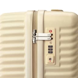 ACE HaNT(ハント) ストッパー付スーツケース サイドハンドル付 47L 3.5kg TSAロック付
