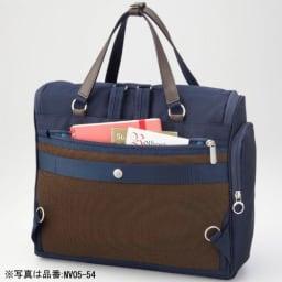 カナナプロジェクト A4横型2WAYアクティブリュック(大サイズ) 貴重品の収納に便利な背面ポケット