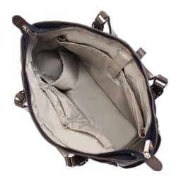 ace.GENE(エース ジーン)/ソリオート所作美人 A4サイズ収納トートバッグ 1気室の内装(写真は商品番号:NV09-75です。)