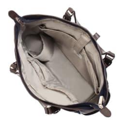 ace.GENE(エース ジーン)/ソリオート所作美人 B4サイズ収納可能トートバッグ 1気室の内装(写真は商品番号:NV09-75です。)