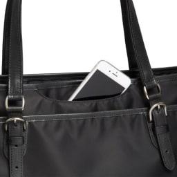 ace.GENE(エース ジーン)/ソリオート所作美人 B4サイズ収納可能トートバッグ 前面ミニポケット
