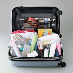 COGIT(コジット)/仕分けて便利!トラベルじゃばらポーチ ごちゃごちゃしがちなスーツケースの中が…
