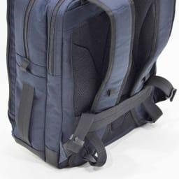 エンドー鞄/NEOPRO(ネオプロ) CONNECT スマホを充電USBポート搭載バックパック 長いリュックベルトをコンパクトにホールドするベルトサポート付き