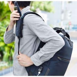 エンドー鞄/NEOPRO(ネオプロ) CONNECT スマホを充電USBポート搭載バックパック