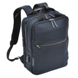 エンドー鞄/NEOPRO(ネオプロ) CONNECT スマホを充電USBポート搭載バックパック (イ)ネイビー