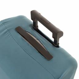 &P スーツケース/キャリーケースカバー カバーをかけたままバーを取り出せるのでそのまま移動が可能です